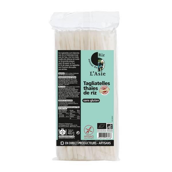 Autour du Riz - Tagliatelles thaïes de riz 400g
