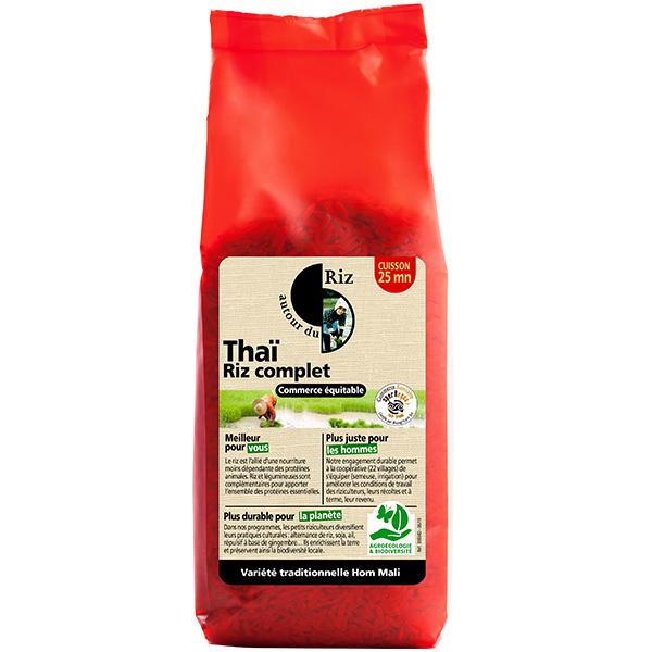 Autour du Riz - Riz thaï complet - 500g