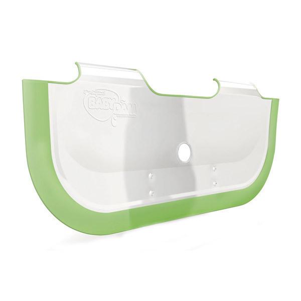 r ducteur de baignoire babydam blanc et vert acheter sur. Black Bedroom Furniture Sets. Home Design Ideas