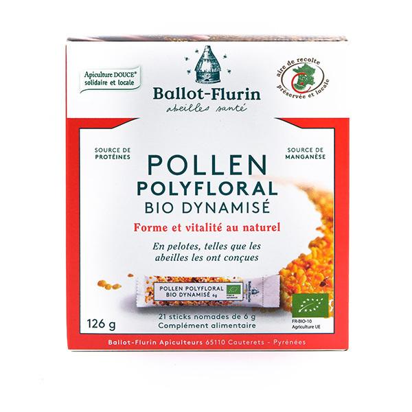 Ballot-Flurin - Pollen Polyfloral Dynamisé BIO 21 sticks