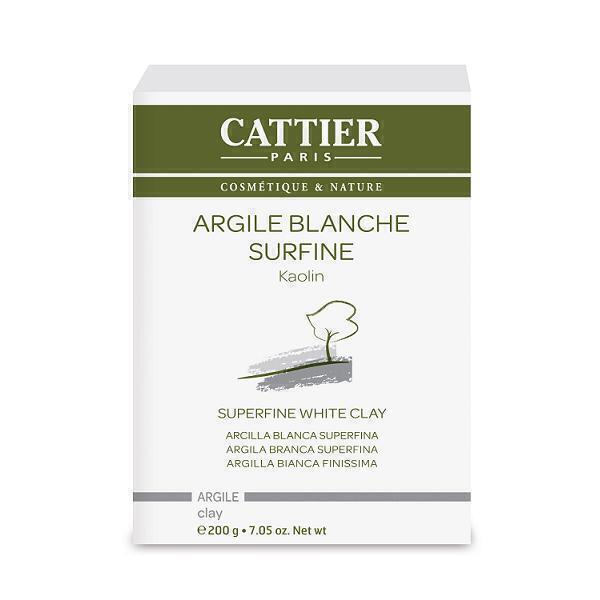 Cattier - Weiße Tonerde - extrafein - 200g