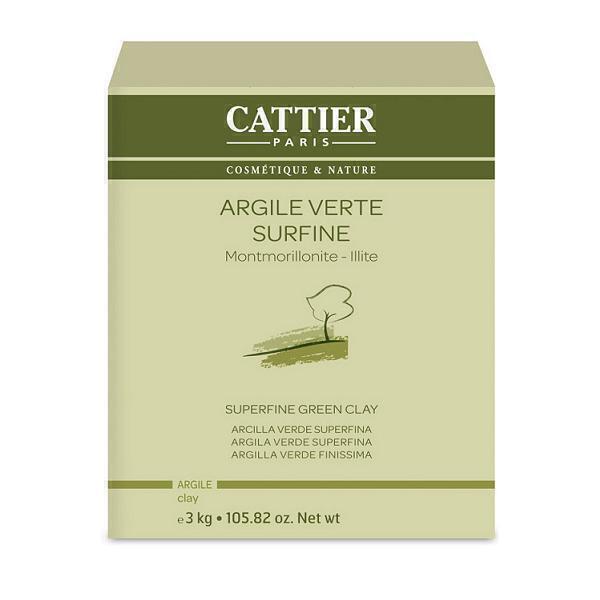 Cattier - Argile verte surfine 3kg