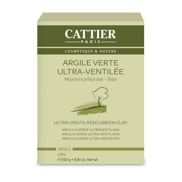 Cattier - Argile verte ultra ventilée 250g