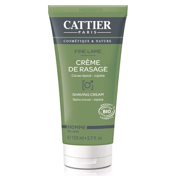 Cattier - Crème de rasage 150ml