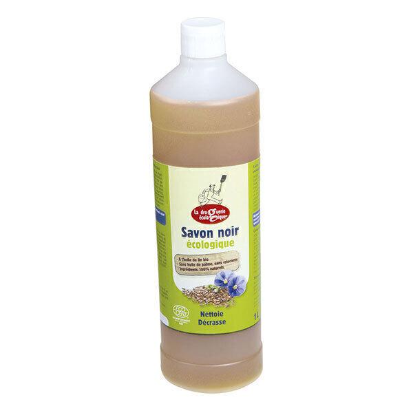 La Droguerie écologique - Savon noir liquide a l'huile de lin 1L
