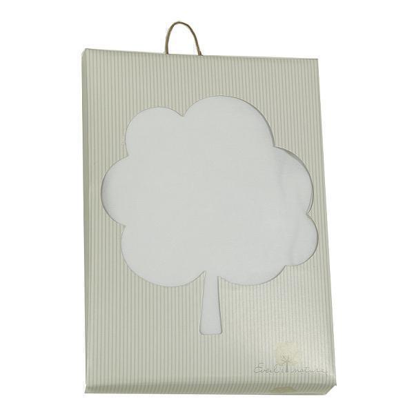 Eveil & Nature - Drap housse coton Bio Blanc 60x120cm