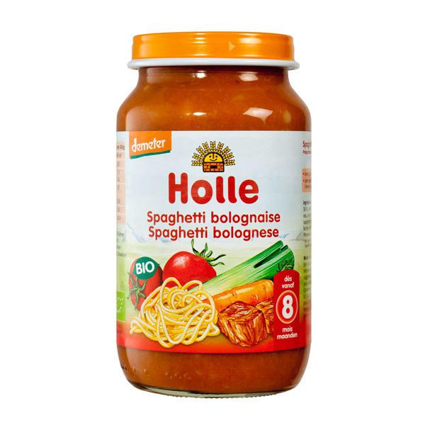 Holle - Petit pot spaghetti bolognaise 220g - Dès 8 mois