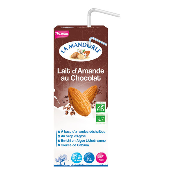 La Mandorle - Lait d'amande chocolat Calcium 20cl