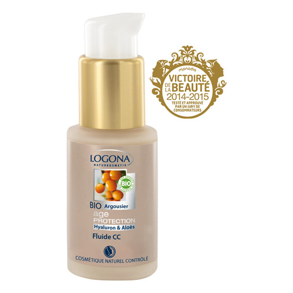 Logona - Crème CC Fluide 8 en 1 - 30ml