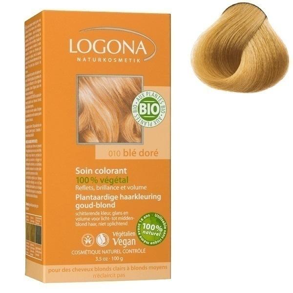 pflanzen haarfarbe pulver gold blond logona einkaufen. Black Bedroom Furniture Sets. Home Design Ideas