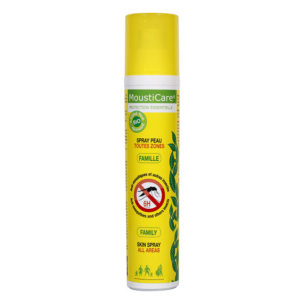 Mousticare - Anti-Mosquito Family Spray 125ml