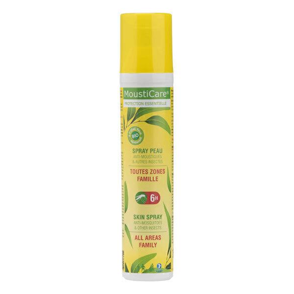 Mousticare - Spray Peau anti-moustiques Famille 125 ml