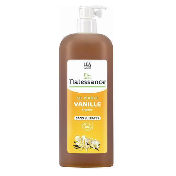 Gel douche vanille fruit e sans sulfate 1l natessance acheter sur - Gel douche peau atopique ...