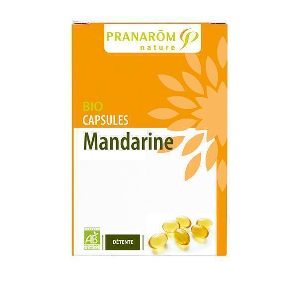 Pranarôm - Organic Mandarin Relaxation Capsules
