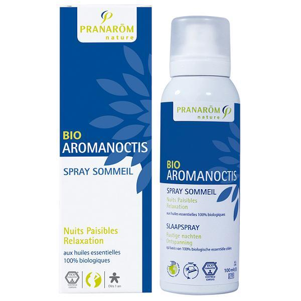 Pranarôm - Spray Sommeil Relaxation Aromanoctis Bio 100mL