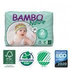 Bambo Nature - Disposable Nappies Mini S2 3-6kg