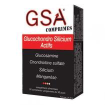 GSA Aquasilice - GSA Comprimés x 30