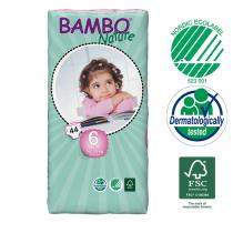 Bambo Nature - Disposable Nappies XL S6 16-30kg