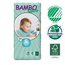 Bambo Nature - 54 pañales desechables T5 Junior 12-22 Kg