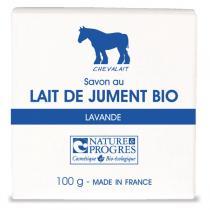 Chevalait - Organic Mare's Milk Soap Lavender 100g