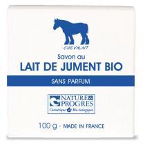 Chevalait - Organic Mare's Milk Soap Fragrance-Free 100g