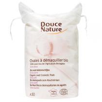 Douce Nature - Ovale Wattepads Bio-Baumwolle