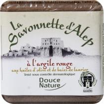 Douce Nature - Aleppo-Seife mit rotem Ton 100 g