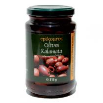 Epikouros - Olives Kalamata noires dénoyautées 320g