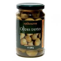 Epikouros - Olives vertes entières 320g