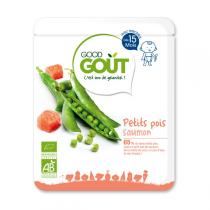 Good Gout - Plat Petit pois et saumon 15 mois 220g