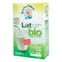Grandeur Nature - Lait écrémé en poudre Bio 300g