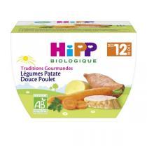 Hipp - Légumes Patate Douce Poulet 220 g