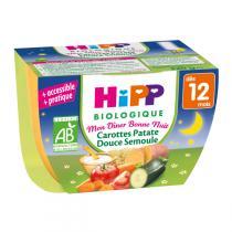 HiPP - Bol Carottes Patate Douce Semoule dès 12 mois 220 g