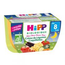 Hipp - Crème de Légumes Coquillettes 190 g