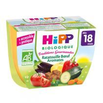 HiPP - Bol Ratatouille Bœuf Aromates 18 mois 250 g