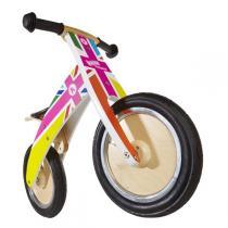 Kiddimoto - Kurve Rainbow Union Jack Balance Bike