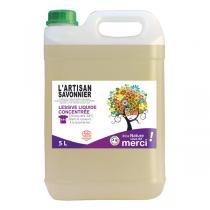 L'Artisan Savonnier Entretien - Lessive liquide concentrée Lavande 5L