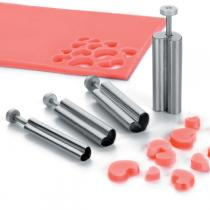 Lacor - 4 Heart Shaped Cutters