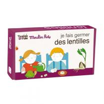 Graines en Folie - Organic Lentil Growing Kit