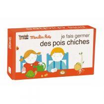 Graines en Folie - Organic Chickpea Growing Kit