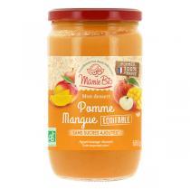 Mamie Bio - Purée pommes France & mangues sans sucre ajoutés 680g