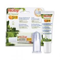 Nuby Citroganix - Kinderzahncreme und Fingerzahnbürste