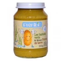 Prémibio® - Haricots verts Pomme de Terre 4mois 200gr
