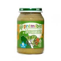Prémibio - Légumes verts et crème de Riz 6 mois 200g