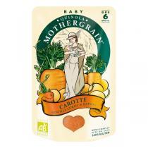 Quinola Mothergrain - Plat Carottes Lentilles Corail Quinoa BIO dès 6 mois 190 gr