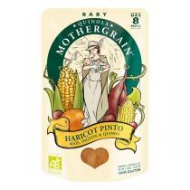 Quinola Mothergrain - Plat Haricot Pinto Maïs Oignons Quinoa BIO dès 8 mois 190 gr