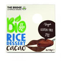 The Bridge - Dessert de riz cacao - 4x110g