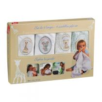 Vulli - Four Swaddles Gift Set