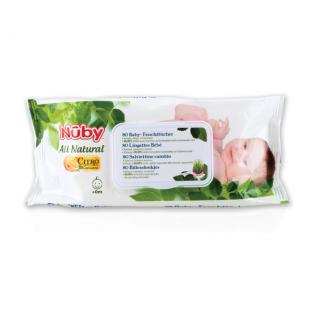 Nuby Citroganix™ - All Natural 80 Baby Wipes