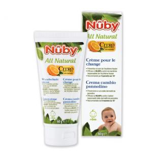 Nuby Citroganix™ - All Natural Nappy Rash Cream 60g